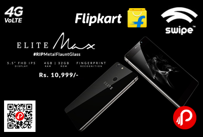 Swipe Elite Max Mobile