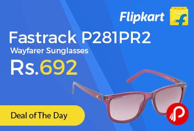 Fastrack P281PR2 Wayfarer Sunglasses