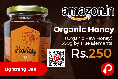Organic Honey (Organic Raw Honey) 350g