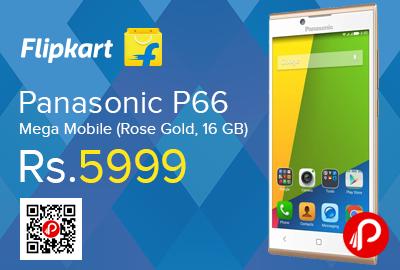 Panasonic P66 Mega Mobile
