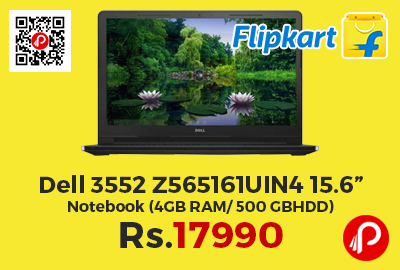"""Dell 3552 Z565161UIN4 15.6"""" Notebook"""