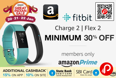 Fitbit Charge 2 and Fitbit Flex 2 Wristband