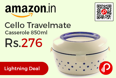 Cello Travelmate Casserole 850ml
