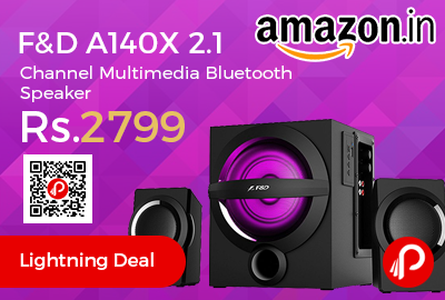F&D A140X 2.1 Channel Multimedia Bluetooth Speaker