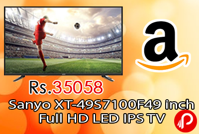 Sanyo XT-49S7100F 49 inch Full HD LED IPS TV