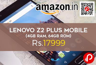 Lenovo Z2 Plus Mobile (4GB RAM, 64GB ROM)