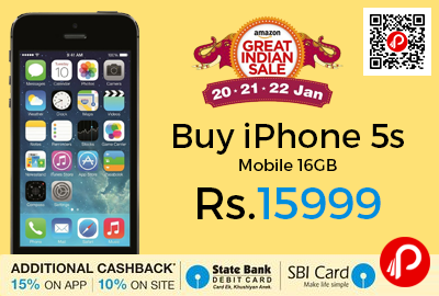 Buy iPhone 5s Mobile 16GB