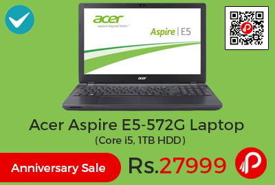 Acer Aspire E5-572G Laptop