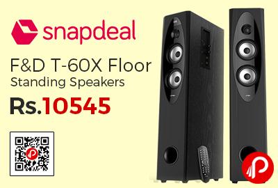 F&D T-60X Floor Standing Speakers