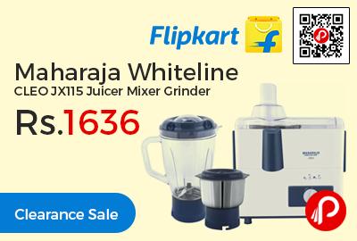 Maharaja Whiteline CLEO JX115 Juicer Mixer Grinder