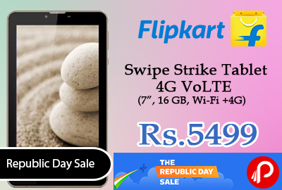 Swipe Strike Tablet 4G VoLTE