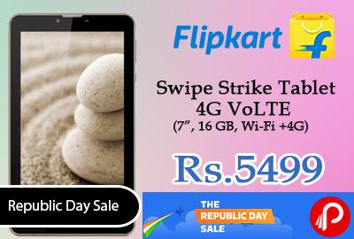 Swipe Strike Tablet 4G VoLTE