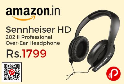 Sennheiser HD 202 II Professional Over-Ear Headphone