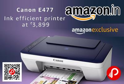 Canon Pixma E477 All in One InkJet Wifi Printer
