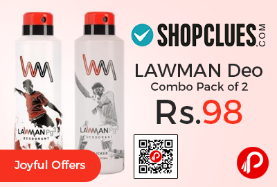 LAWMAN Deo Combo Pack of 2