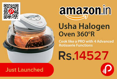 Usha InfinitiCook 360R Halogen Oven Rotisserie