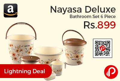 Nayasa Deluxe Bathroom Set 6 Piece