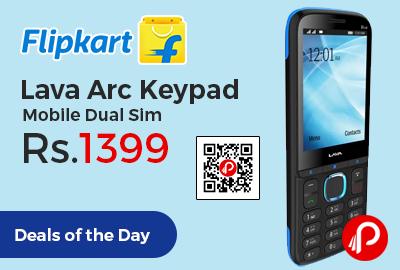 Lava Arc Keypad Mobile Dual Sim