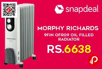 Morphy Richards 9Fin OFR09 Oil Filled Radiator
