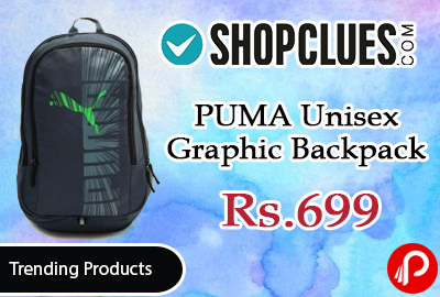 PUMA Unisex Graphic Backpack