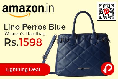Lino Perros Blue Women's Handbag