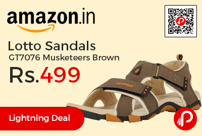 Lotto Sandals GT7076 Musketeers Brown