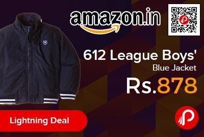 612 League Boys' Blue Jacket