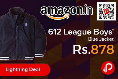 612 League Boys' Blue Jacket