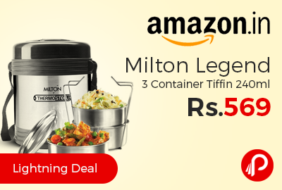Milton Legend 3 Container Tiffin 240ml