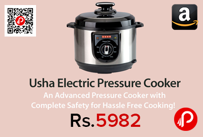 Usha EPC 3650 5L Electric Pressure Cooker