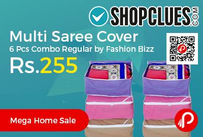 Multi Saree Cover 6 Pcs Combo Regular
