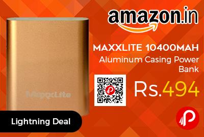 Maxxlite 10400mAh Aluminum Casing Power Bank