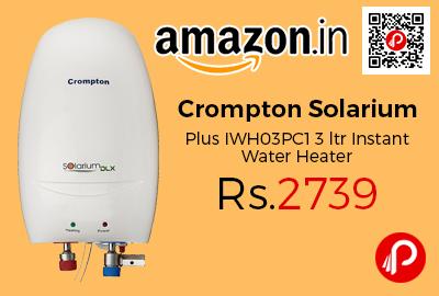 Crompton Solarium Plus IWH03PC1 3 ltr Instant Water Heater