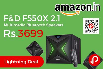 F&D F550X 2.1 Multimedia Bluetooth Speakers