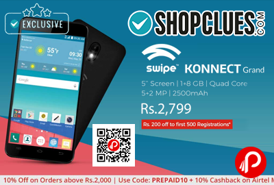 Swipe Konnect Grand Mobile Pre Launch
