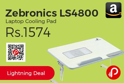 Zebronics LS4800 Laptop Cooling Pad