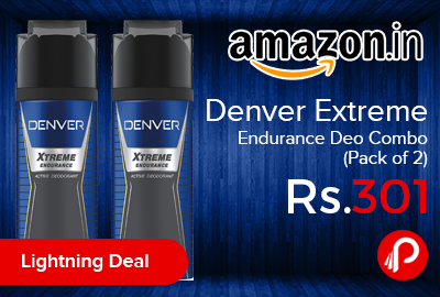 Denver Extreme Endurance Deo Combo