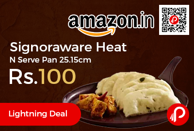 Signoraware Heat N Serve Pan 25.15cm