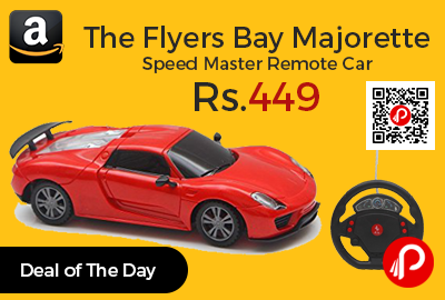 The Flyers Bay Majorette Speed Master Remote Car