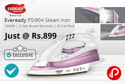 Eveready PSI904 1600W Steam Iron