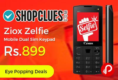 Ziox Zelfie Mobile Dual Sim Keypad