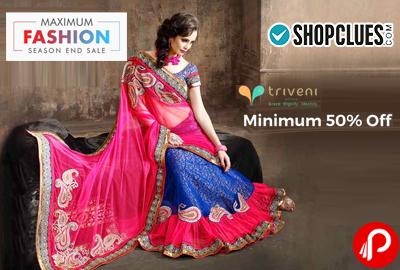 Triveni Sarees Collection