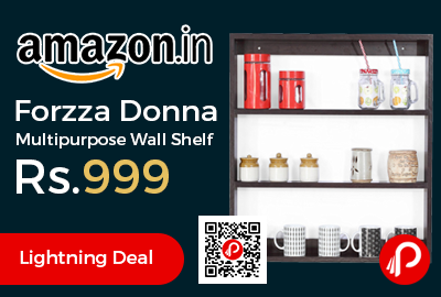 Forzza Donna Multipurpose Wall Shelf
