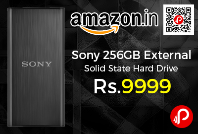 Sony 256GB External Solid State Hard Drive