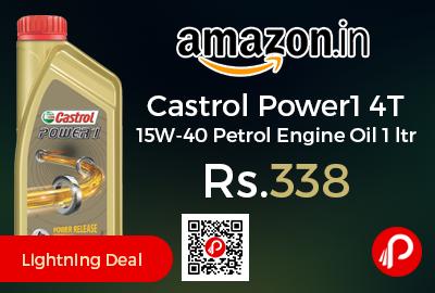 Castrol Power1 4T 15W-40 Petrol Engine Oil 1 ltr