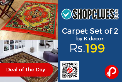 Carpet Set of 2