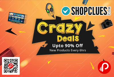 Crazy Deals Upto 90% off New Products Every 6Hrs