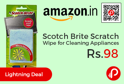 Scotch Brite Scratch Proof Wipe for Cleaning Appliances