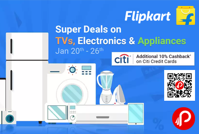 Super Deals on TVs, Electronic & Appliances