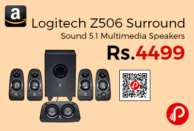 Logitech Z506 Surround Sound 5.1 Multimedia Speakers